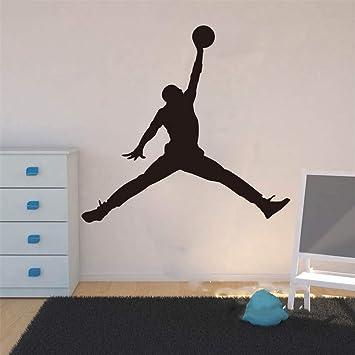 autocollant mural stickers muraux chambre Michael Jordan