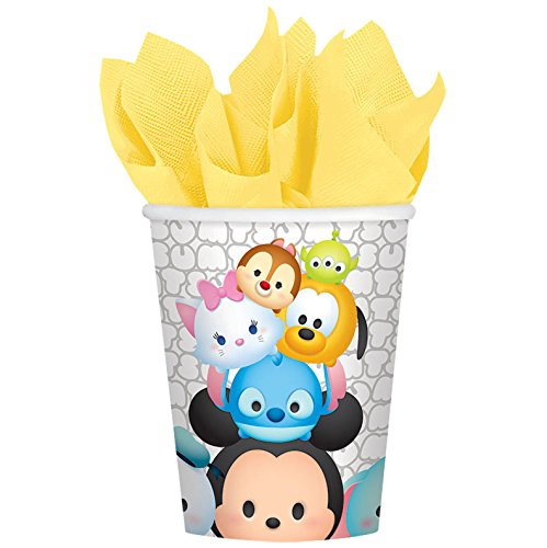 TSUM TSUM by Disney 9 oz. Paper Cups 8 pack Birthday Party Supplies