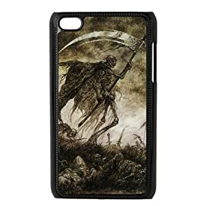 HXYHTY Grim Reaper 2 Phone Case For Ipod Touch 4 [Pattern-1]