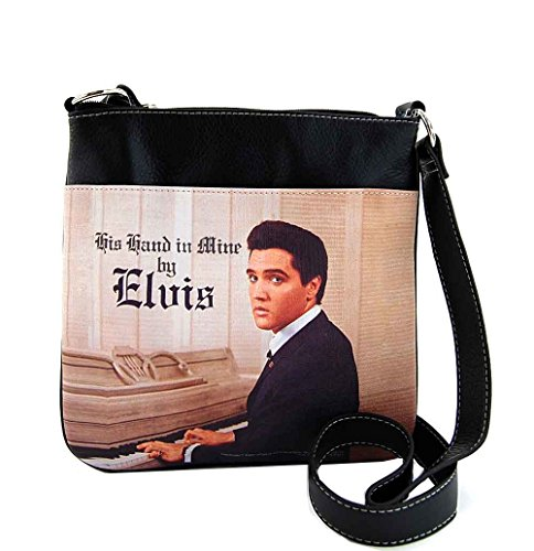 Elvis Presley Cross Body Bag, with Piano