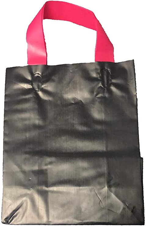 "Cub 8x5x10/"" 100 CT RECYCLED WHITE Kraft paper shopping bags"