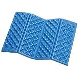 EVA Foam Foldable Seat Cuchion EVA Chair Pad EVA Camping Kneeler Mat Outdoor Cover (Blue)