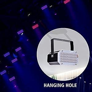 51kXOLDi35L. SS300  - Disco-Lichteffekt-AUSHEN-48-LED-Stroboskop-licht-party-licht-mit-Fernbedienung-Sprachaktiviertes-RGB-LED-Strobe-Lampe-fr-Christmas-Disco-DJ-Party