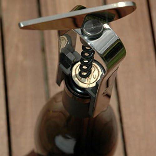 LAtelier du Vin 095244-5 Endless Screw Corkscrew Chic Monsieur Silver Stainless Steel