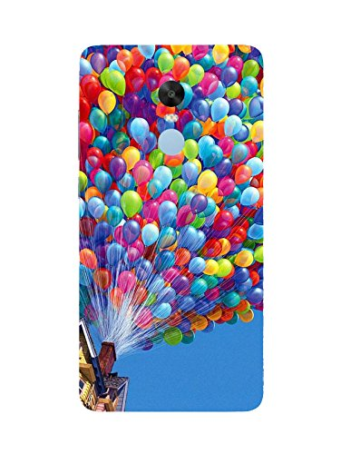 size 40 38f22 7d766 Ballon 3D Printed Designer Back Cover for Redmi Note 4: Amazon.in ...