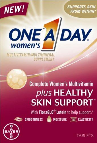 One-A-Journée de la femme Mutlivitamin complète, ainsi que de soutien peau saine, 80-Comte