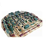 S&T/ 310 set toy soldier World War II military base plastic army boy loves sand table model army
