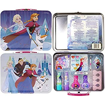 Amazon.com : Disney Frozen Princess 26 Pcs Girls Cosmetics ...