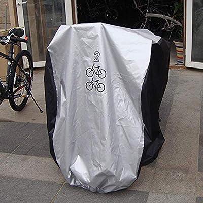 SUPEWOLD Bicicleta Funda para 1/2/3 Bicicletas, 190T Impermeable ...