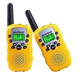 Toys for 3-12 Year Old Boys, Kids Walkie Talkies for Kids Toys for 3-12 Year Old Girls 3-12 Year Old Girl Best Gifts Yellow