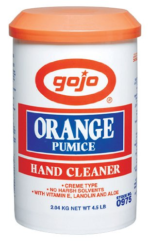 Gojo 975-6PK Orange Creme Pumice Hand Cleaner - 4.5 lbs., (Pack of 6)