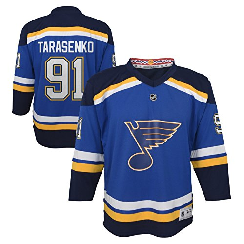NHL St. Louis Blues Youth Boys Replica Home-Team Jersey, Large/X-Large, Cobalt