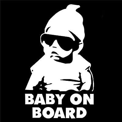 5PCS Baby on Board décalque de vinyle / autocollant camion drôle fenêtre de la voiture portable Hangover