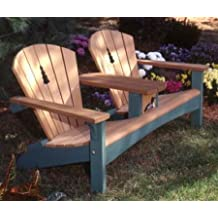 A Woodworking Pattern and Instructions Pkg to Build Your Own Double Sette Furniture