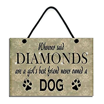 Amazoncom Whoever Said Diamonds Are A Girls Best Friend Never