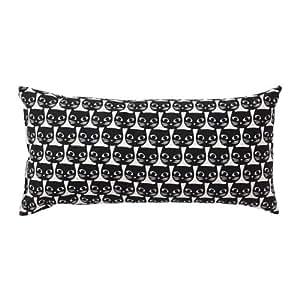 ikeashowercurtains IKEA Negro Gato Blanco Almohada cojín ...