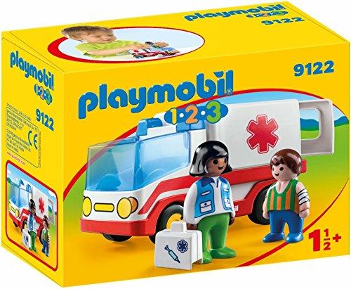 Playmobil 1.2.3 Ambulancia 1