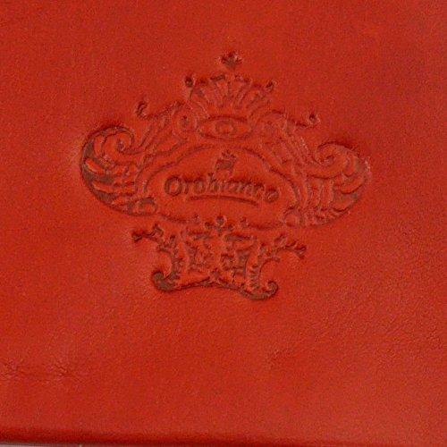 (オロビアンコ)OROBIANCO レディス手袋 ORL-1582RD Leather glove 羊革 ウール RED サイズ:7(20cm) レッド 女性用 レザー