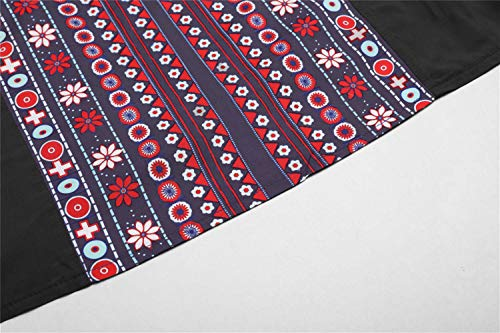 8659eb878 sankill Women Boho Dresses Long Sleeve Maxi Dress Autumn Round Neck A Line  High Waist Dress