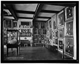 Vintography 24 x 30 Giclee Unframed Photo Marine Room East India Hall Peabody Museum Salem Mass 1913 Detriot Publishing co. 83a