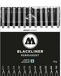 molotow one4all blackliner complete 11 piece. Black Bedroom Furniture Sets. Home Design Ideas