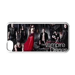 IPhone 5C Phone Case for The Vampire Diaries pattern design GQTVD726234