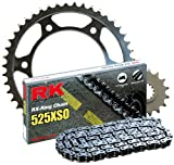 RK Racing Chain 3068-990W Steel Rear Sprocket and 525XSO Chain 20,000 Mile Warranty Kit