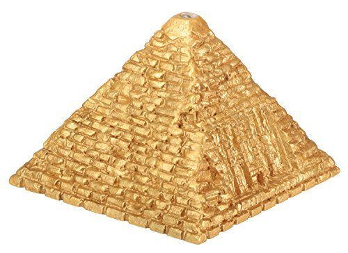 YTC Summit Egyptian Small Lighted Pyramid - Egypt Figurine Statue Model Sculpture, Multi Color