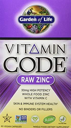 Garden of Life Vitamin Code Raw Zinc