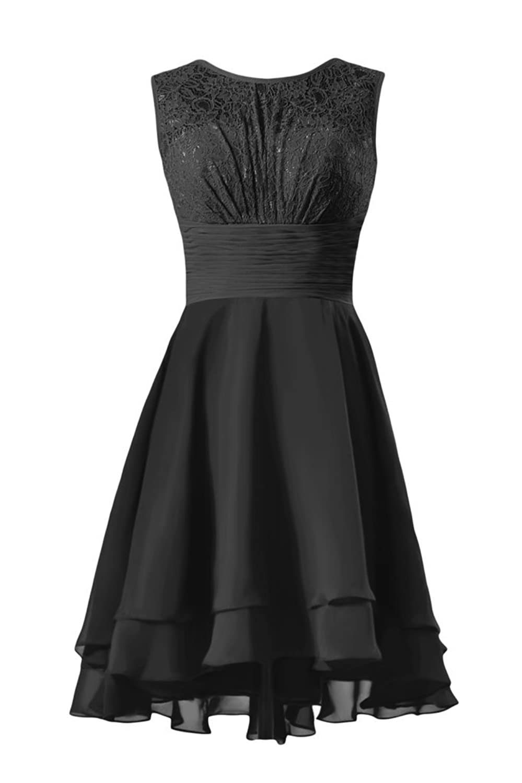 DaisyFormals Lace Party Dress High Low Vintage Formal Dress (CST2230)