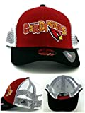 Arizona Cardinals AZ New Era 9Forty Kids Youth Red Black Mesh Snapback Hat Cap