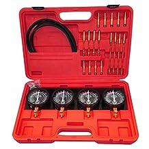 Vogvigo Carburetor Synchronizer and Adjustment Tool Kit Fuel Vacuum Carburetor Synchronizer Carb Sync Vacuum Gauge Set