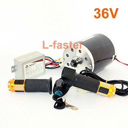 36v48v 500ワット電動高速モーターキット電動スクーターunitemotor変換キットe300s mx350交換モーターアップグレードセット [並行輸入品] B078KTVWHN 36V upgrade kit 36V upgrade kit