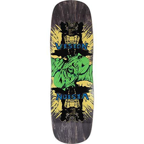 Vision Skateboards Double Vision Black Old School Skateboard Deck - 9.5