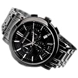 【BURBERRY】BU1373/SWISS MADE/バーバリー/腕時計/メンズ/クロノグラフウォッチ/ステンレス/スイス製/並行輸入品