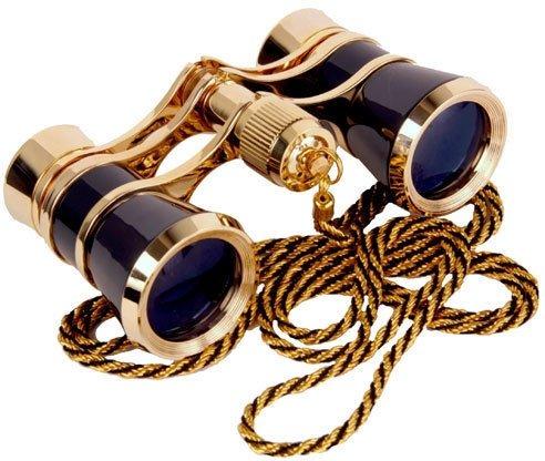 Carmen Opera Glasses Finish: Platinum/Silver by LaScala Optics
