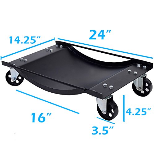 4-PCS-Set-24x15-Tire-Wheel-Dollies-Dolly-Moving-Car-Auto-Repair-Jack