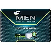 Tena Men Protective Underwear, Super Plus, X-Large, Case/56 (4 bags of 14)