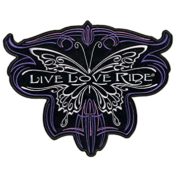 Multicolor, 10 10 Hot Leathers Metallic Butterfly Patch PPA7108 MULTI