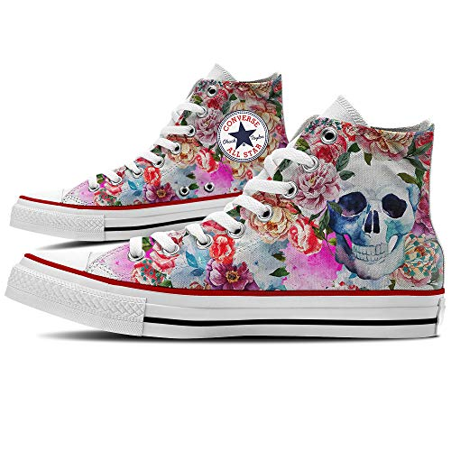 all Personalizzate YourStyle Summer Hi Canvas Sneaker Star by M7650c Skull Scarpe Unisex Converse xqwn1T