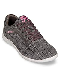 KR Strikeforce Womens Nova Lite Bowling Shoes- Ash/Hot Pink