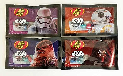 Jelly Belly Star Wars Galaxy Mix Sparkling Jelly Beans Mix - 1 oz Bag (8 Bags) ()