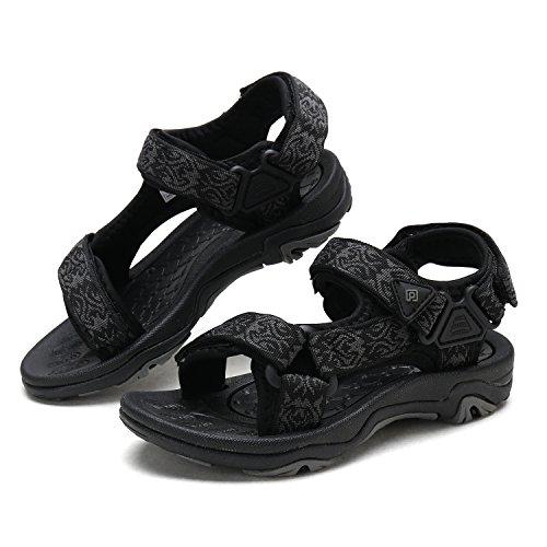 DREAM PAIRS Little Kid 170892-K Black Outdoor Summer Sandals Size 13 M US Little Kid by DREAM PAIRS (Image #4)