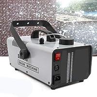 1500W Snow Maker Stage DJ Flake Effect with Remote Control RanBB Snowflake Machine