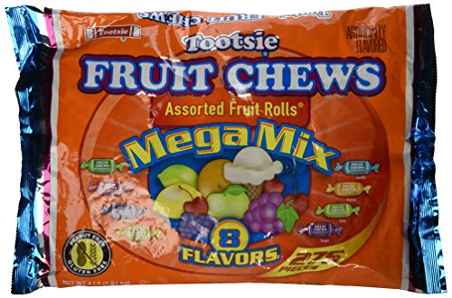 Tootsie Roll Frooties Fruit Rolls Mega Mix 8 Flavor Value Bag (Pack of 275) ()