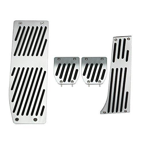 KKmoon MT Foot Rest Pedals Set for BMW E30 E36 E46 E87 E90 E91 E92 E93 M3 Left Driving Country
