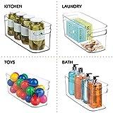 mDesign Bathroom Vanity Plastic Organizer Storage