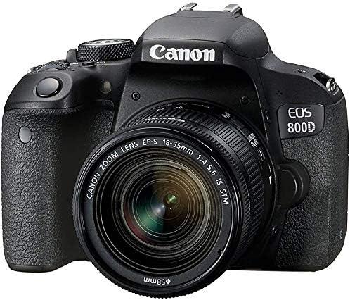 EOS 800D (Rebel T7i) DSLR Camera Bundle with 18-55mm STM Lens + 2pc Kingston 32GB Memory Cards + Accessory Kit 51kXaOOiZsL