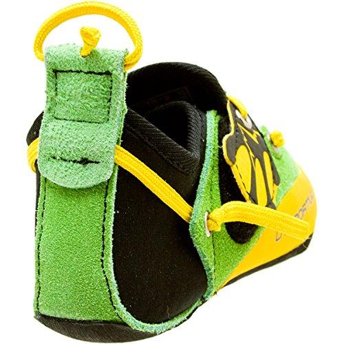 La Sportiva Stickit Kid–Zapatos de escalada Verde