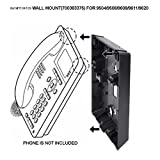 Wall Mount Kit For Avaya 9508, 9504, 9608, 9611, and 9620 Phones, 700383375 Compatible